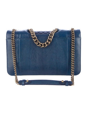Lizard Perfect Edge Flap Bag