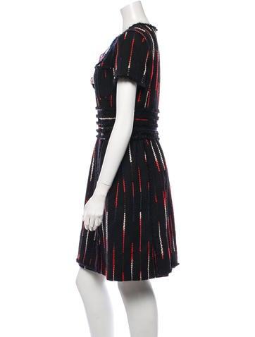 Embellished Fringe Dress w/ Tags
