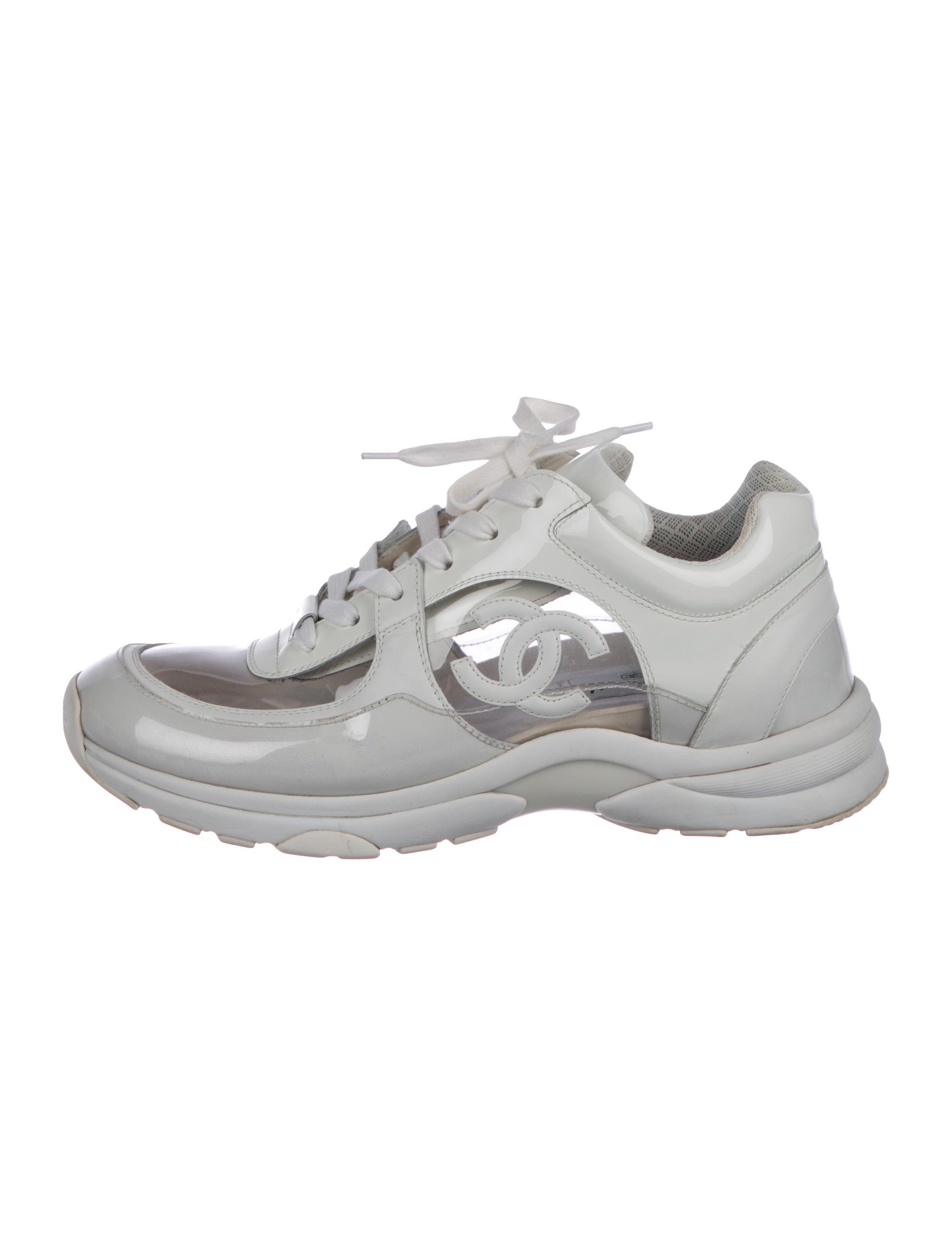 Chanel 2018 CC PVC Sneakers - Shoes