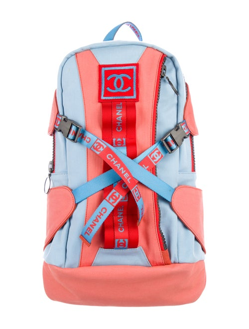 b7a8d50a5 Chanel Sport Ligne Backpack - Handbags - CHA322361 | The RealReal