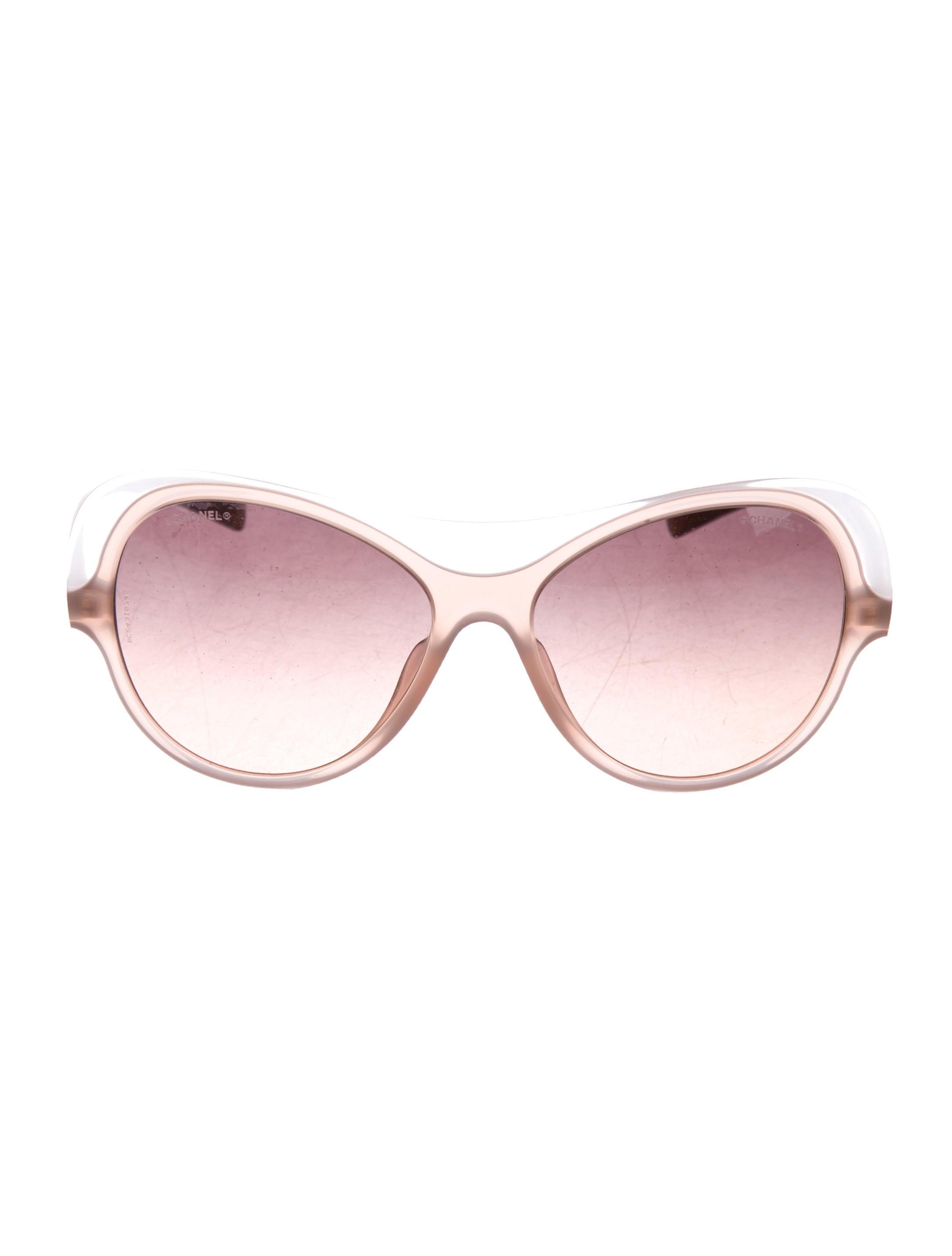 b7da4ef5cd20b Chanel Oversize Gradient Sunglasses - Accessories - CHA323094