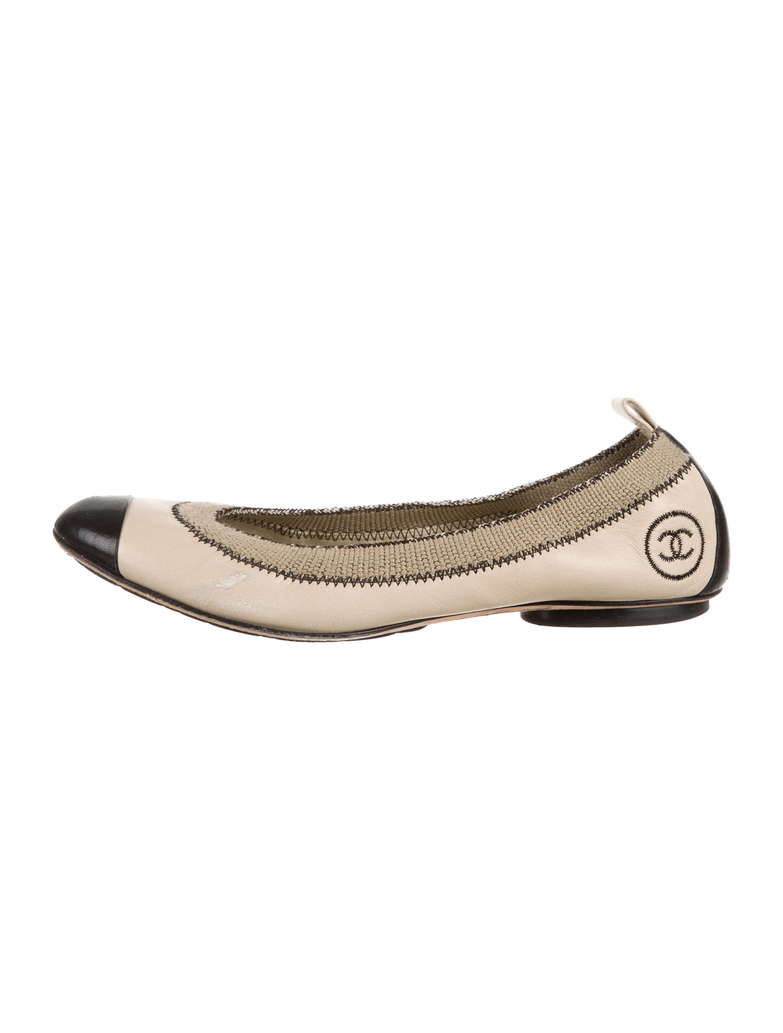 a0bc5a0197 Chanel Stretch Spirit Flats - Shoes - CHA323472 | The RealReal