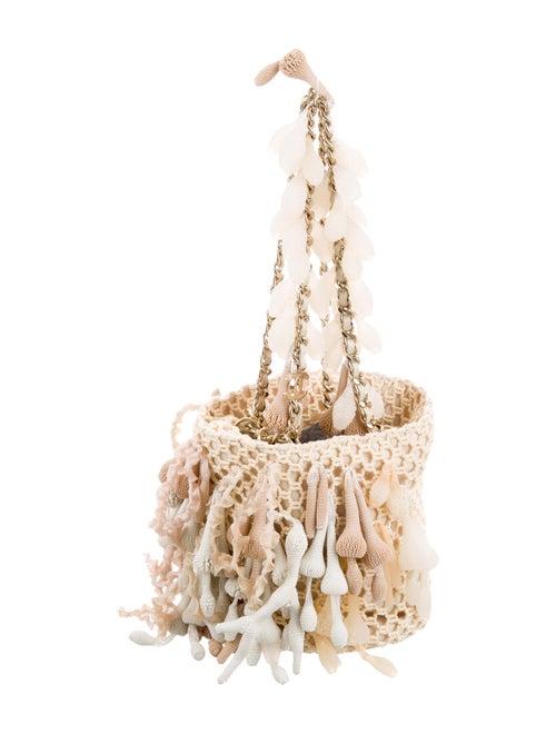 Chanel Seashell Crochet Bag gold
