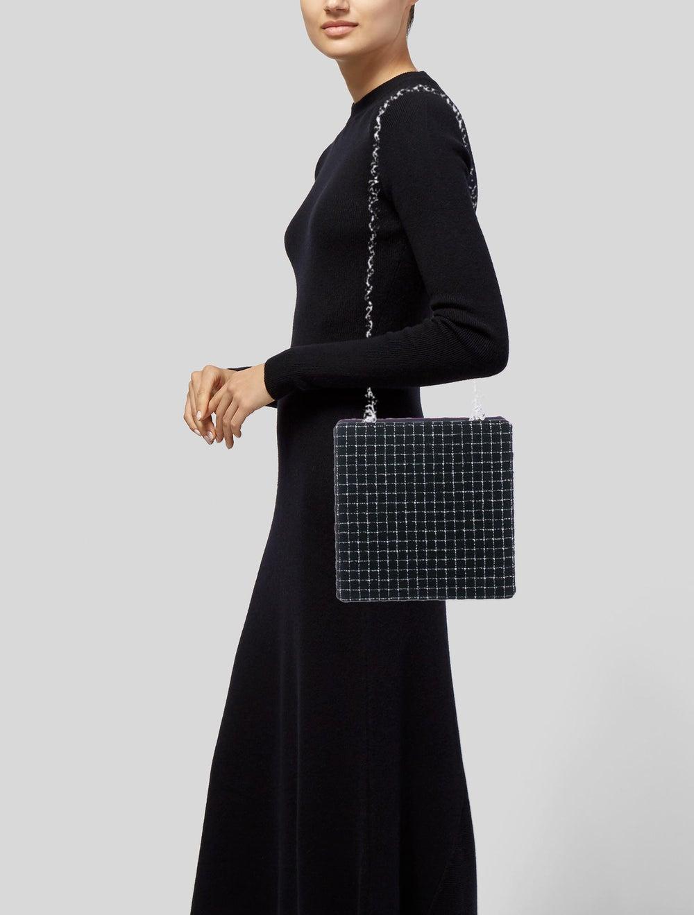 Chanel Chain Fantasy Tweed Bag Black - image 2
