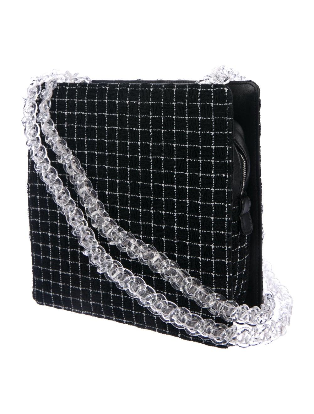 Chanel Chain Fantasy Tweed Bag Black - image 3