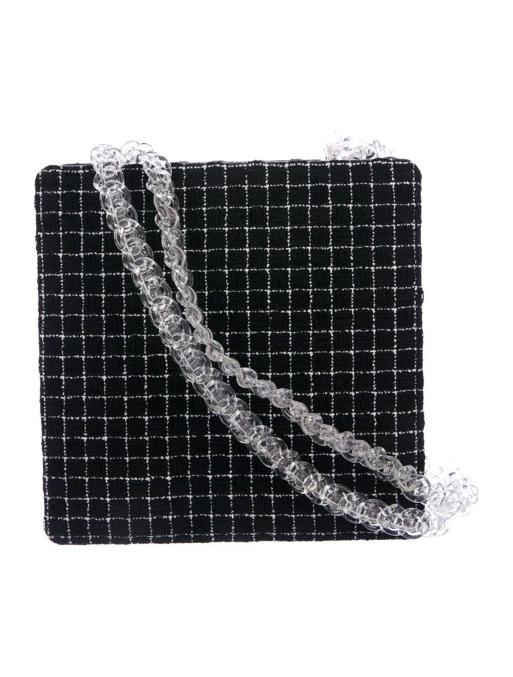 Chanel Chain Fantasy Tweed Bag Black - image 4