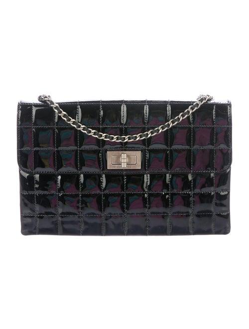 Chanel Chocolate Bar Mademoiselle Flap Bag Black