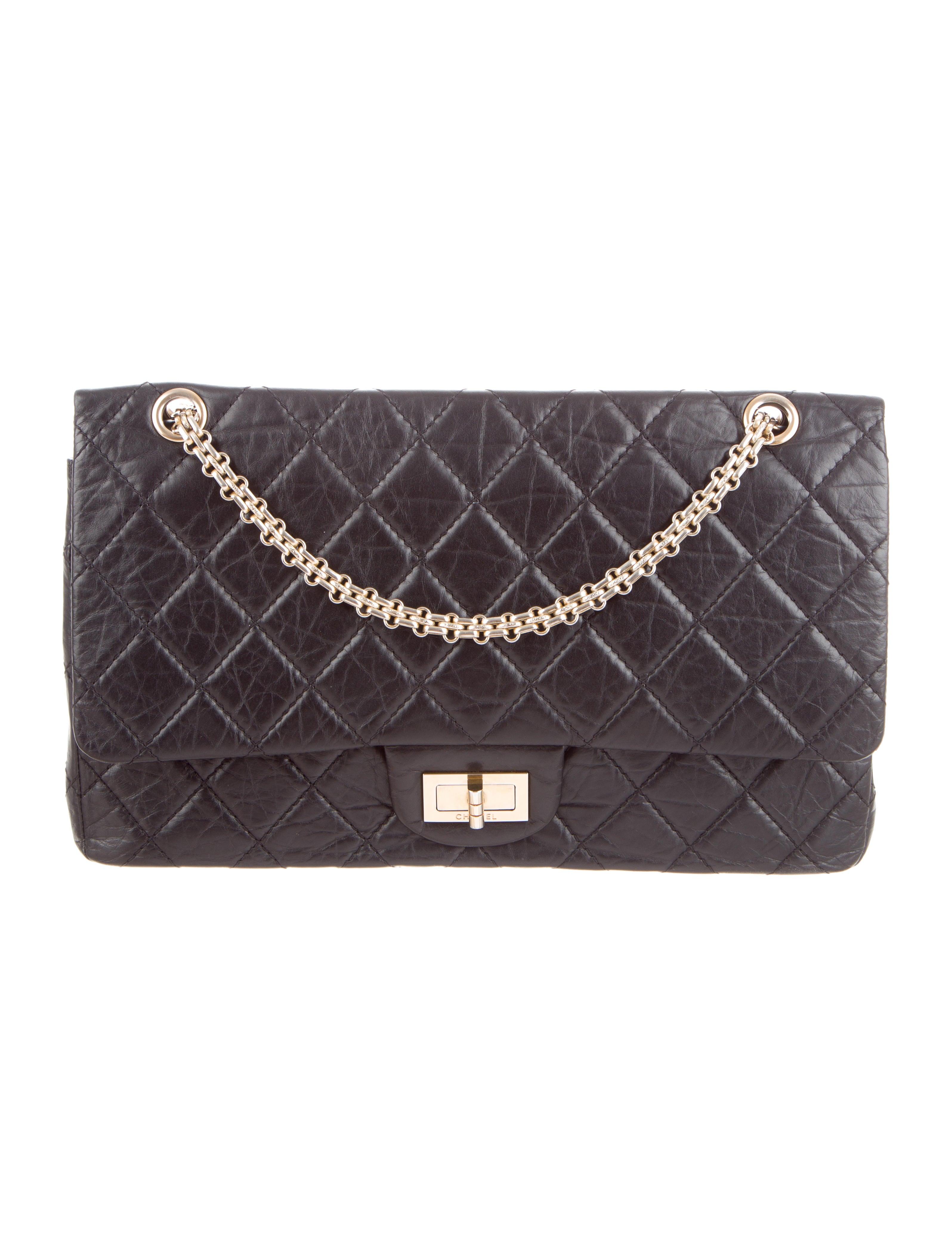 850f85ce1735 Chanel 2.55 Medium Double Flap Bag - Handbags - CHA38519   The RealReal