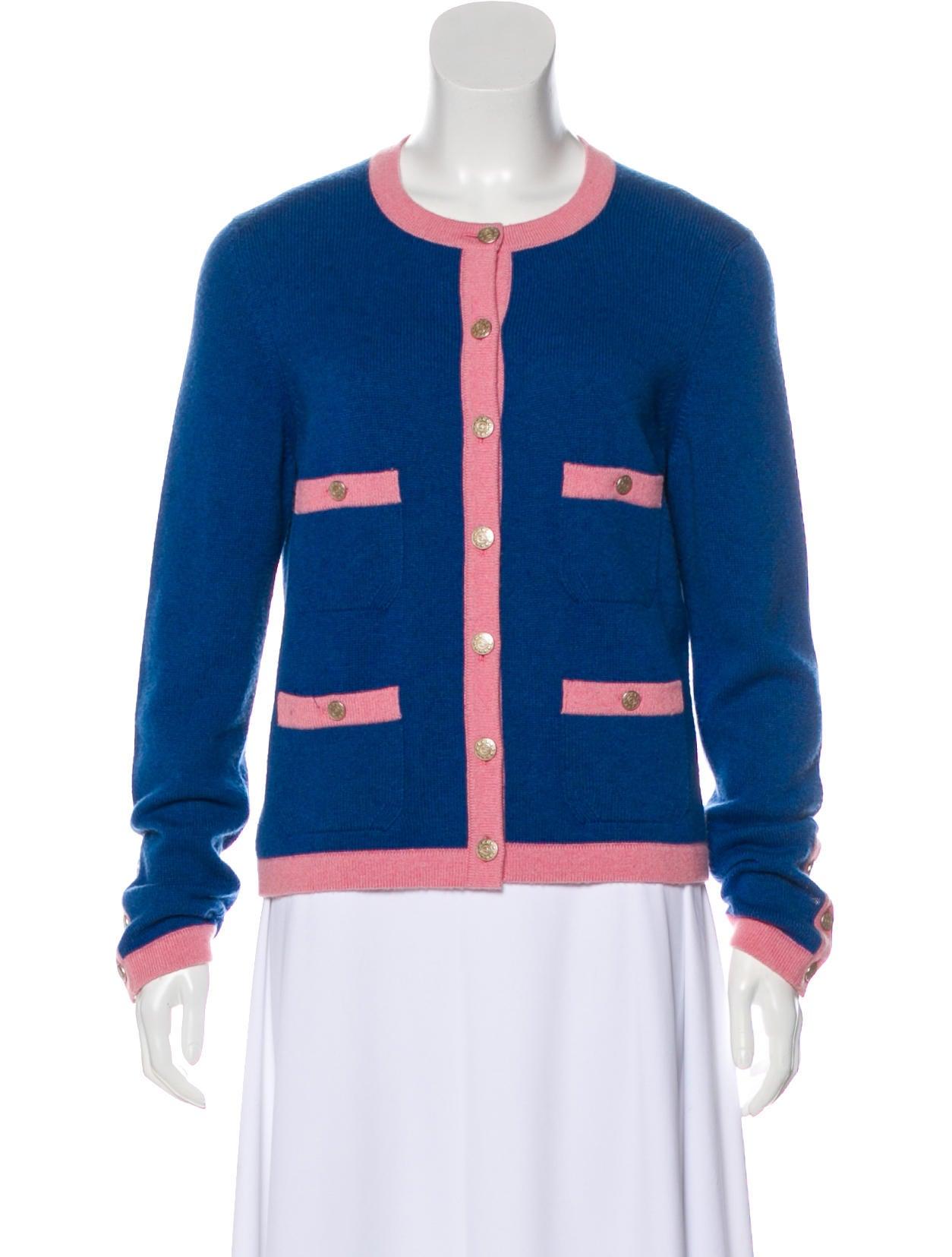 9ddd5385513 Chanel Cashmere Knit Cardigan - Clothing - CHA328925