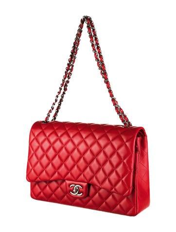 Maxi Double Flap Bag