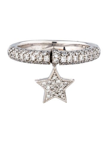 Comete D'Amour Diamond Star Ring