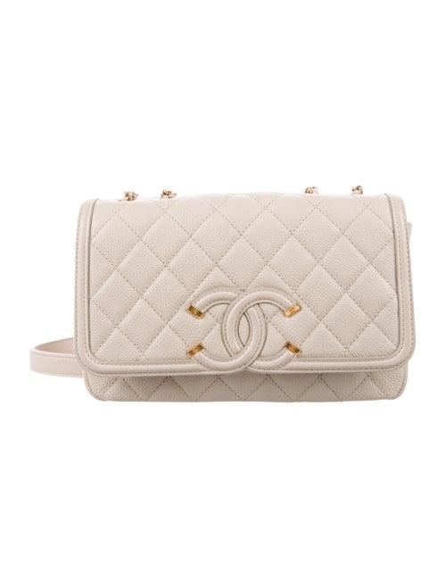 2f3f23c0d5e3 Chanel Small CC Filigree Flap Bag - Handbags - CHA330381   The RealReal