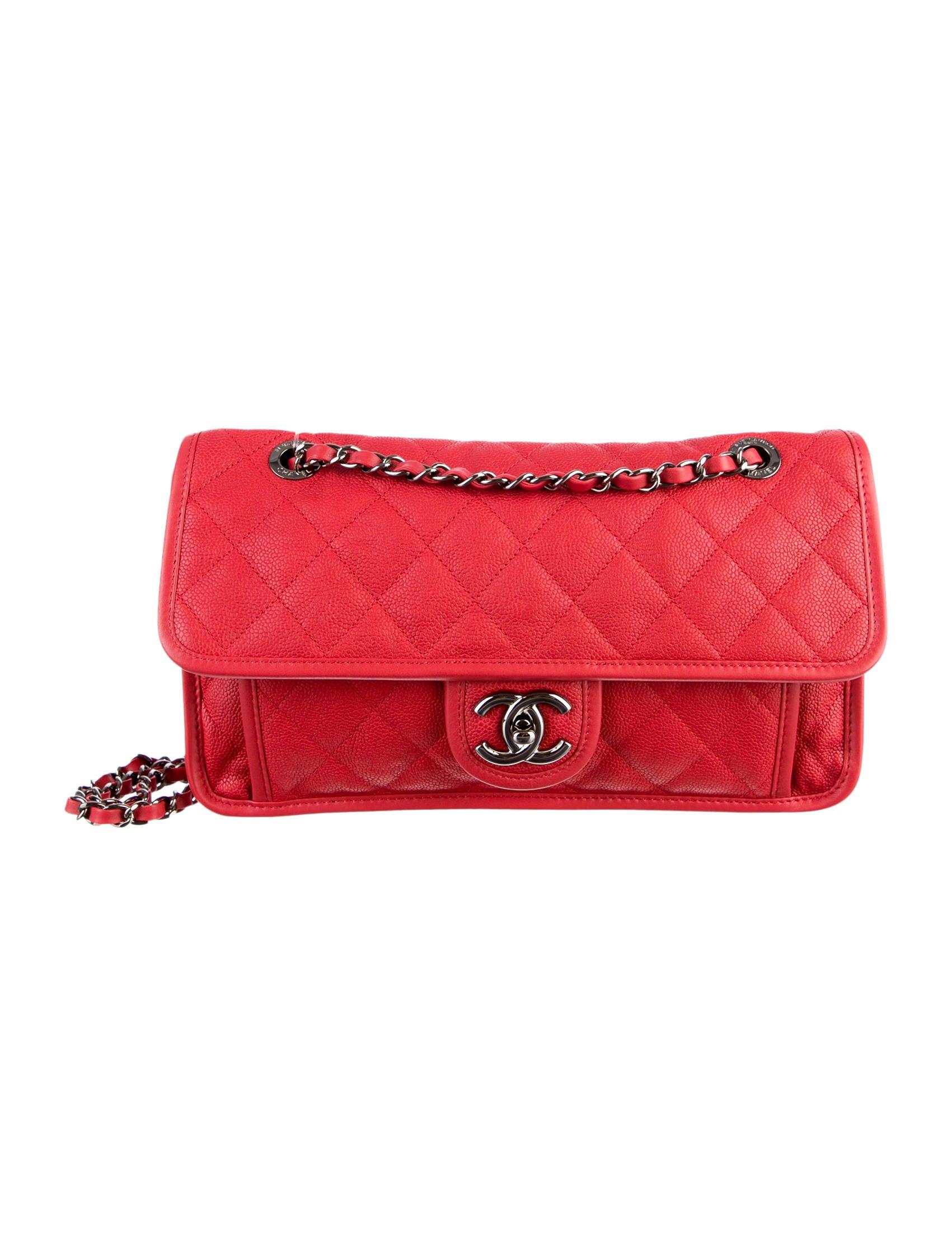 4804d667d1f324 Chanel French Riviera Medium Flap Bag w/ Tags - Handbags - CHA33108 ...