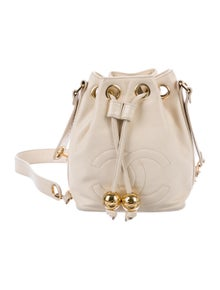 033e9471d7f7 Chanel. Vintage CC Mini Bucket Bag