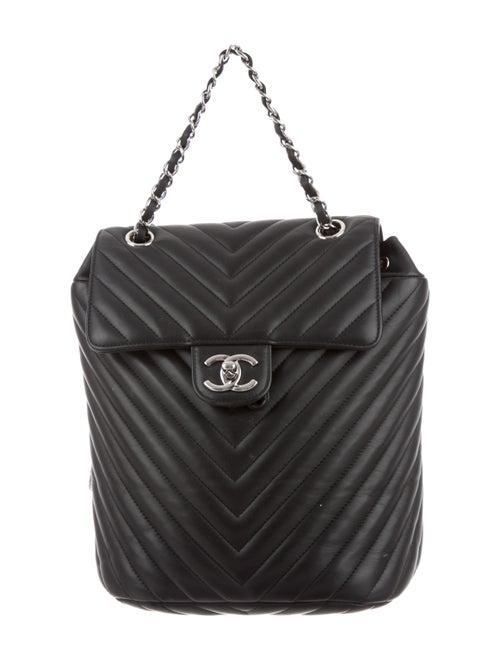 498f37645080 Chanel Chevron Small Urban Spirit Backpack - Handbags - CHA333174 ...