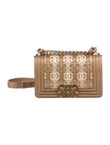 4ae8b1f12605 Chanel. Paris-Dubai Small Boy Bag