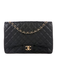 6084226a1daa Chanel. Classic Caviar Maxi Double Flap Bag