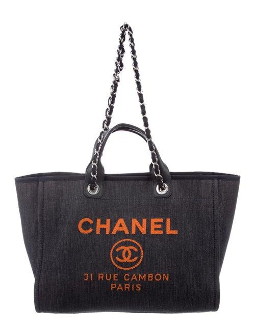 57e392327fca Chanel 2017 Large Deauville Tote - Handbags - CHA337691 | The RealReal