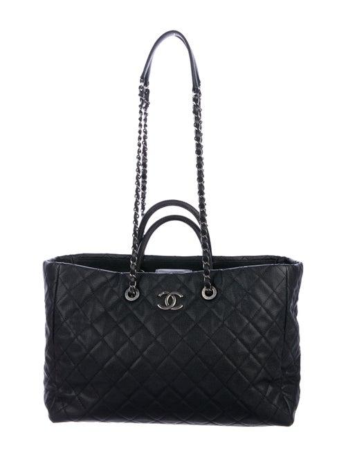 40c087cb6a477a Chanel Lizard-Trimmed Coco Handle Tote - Handbags - CHA338100 | The ...