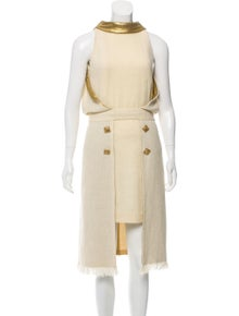 18e0c6df23c5 Chanel. Paris-Byzance Metallic Silk Dress