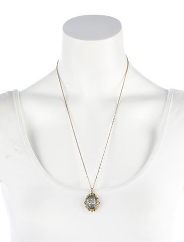 CC Pendant Necklace