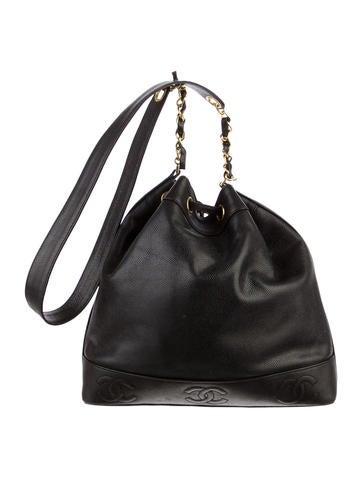 Caviar Drawstring Bag