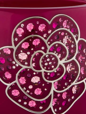 Crystal Camellia Cuff
