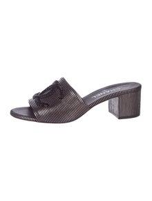 9afac05e2c2 CC Leather Wedges. Size  US 10