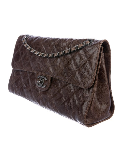 1952c3bbb07a4d Chanel CC Crave Jumbo Flap Bag - Handbags - CHA343082 | The RealReal