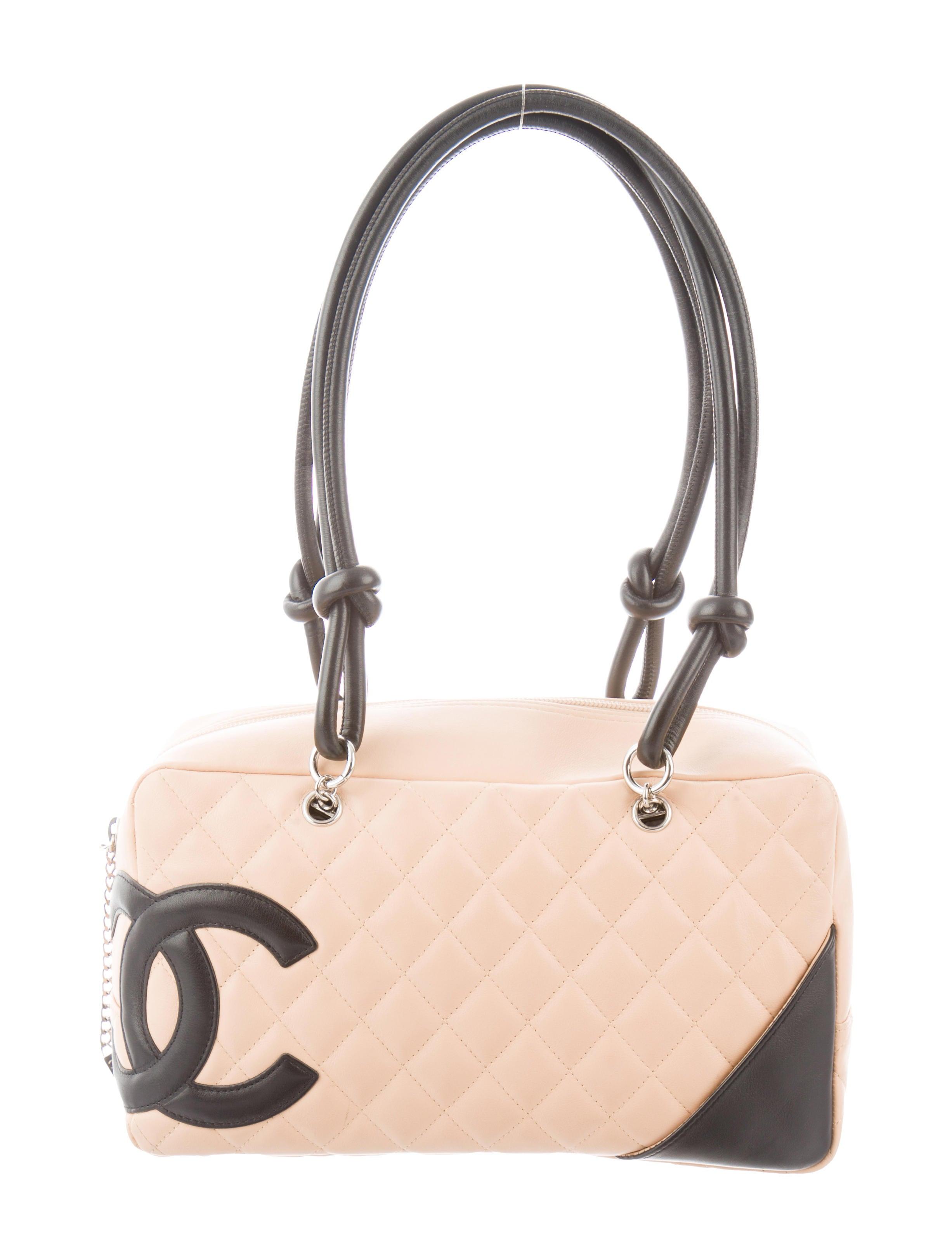 b72e6e7d8ecb Chanel Ligne Cambon Bowler Bag - Handbags - CHA344968