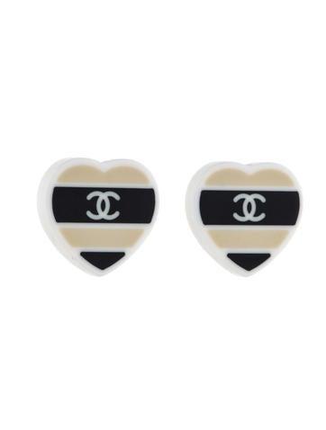 Post Heart Earrings