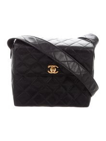f807f6068deb Chanel. Vintage Quilted CC Bag