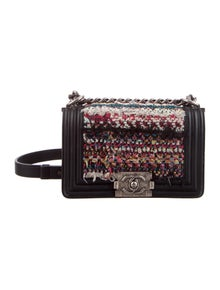 7975f1353d7e Chanel. Paris-Dubai Small Tweed Boy Bag