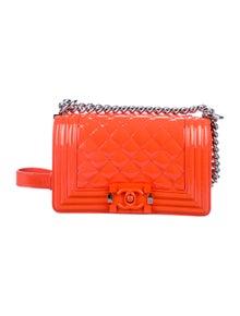 7bc4dc603660 Chanel. Small Patent Boy Bag