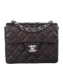 81e03a8aab267e Chanel. Classic Mini Square Flap Bag. Est. Retail $3,300.00. $2,100.00