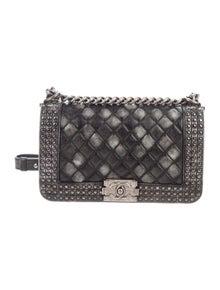 a0e35ae1bc09 Chanel Boy Bag | The RealReal