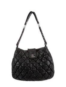 2e22de94a24db4 Chanel. Large Bubble Quilt Hobo