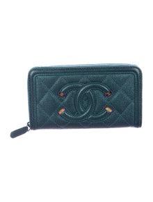 2786c1fb9de098 Quilted Travel Organizer Wallet. $995.00 · Chanel