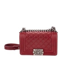 8fb6e9e060ce Chanel. Quilted Small Boy Bag