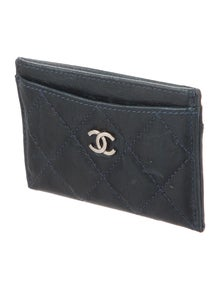 cb6850e5321344 Chanel. Quilted CC Card Holder