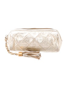 ba3a7e0c48be24 Chanel. Vintage Metallic Evening Clutch