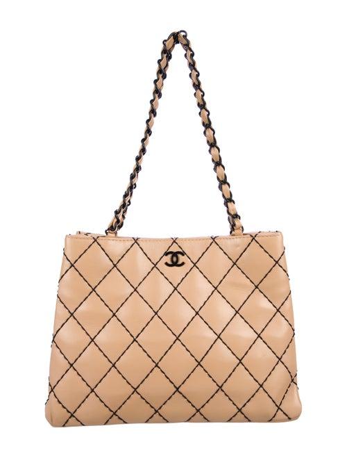 36a2f474bf44 Chanel CC Surpique Tote - Handbags - CHA355809   The RealReal