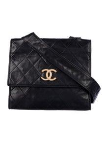 9a10d8a556d2 Chanel. Vintage Lambskin Flap Bag