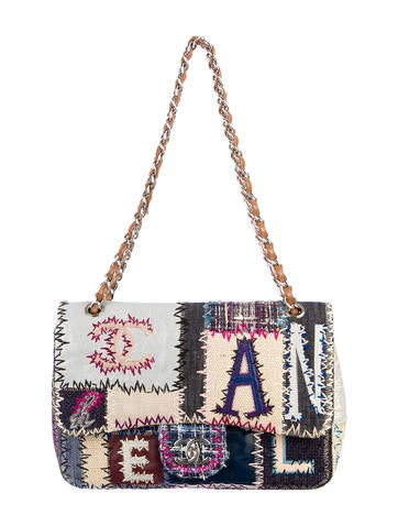 Classic Jumbo Patchwork Flap Bag