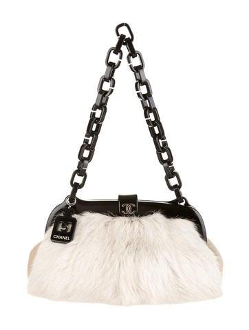 Goat Fur Shoulder Bag