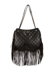 8a639db60 Chanel. Into the Fringe Hobo