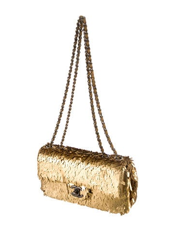 Sequin Mini Flap Bag