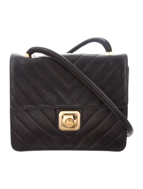 Vintage Chevron Shoulder Bag by Chanel