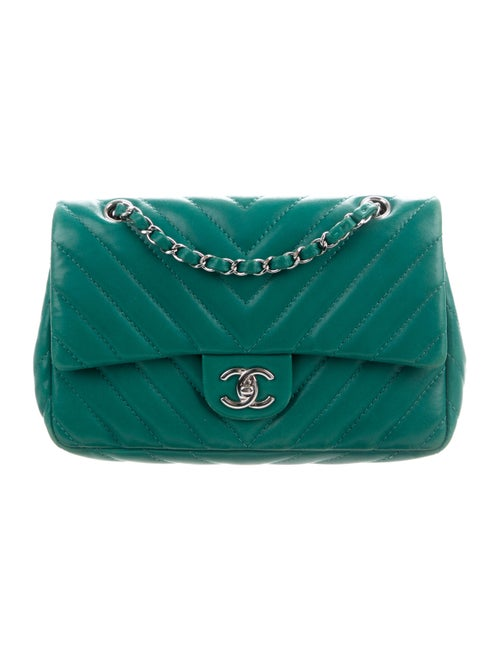 Medium Chevron Single Flap Bag by Chanel