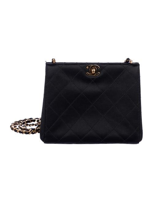 Vintage Satin Frame Bag by Chanel